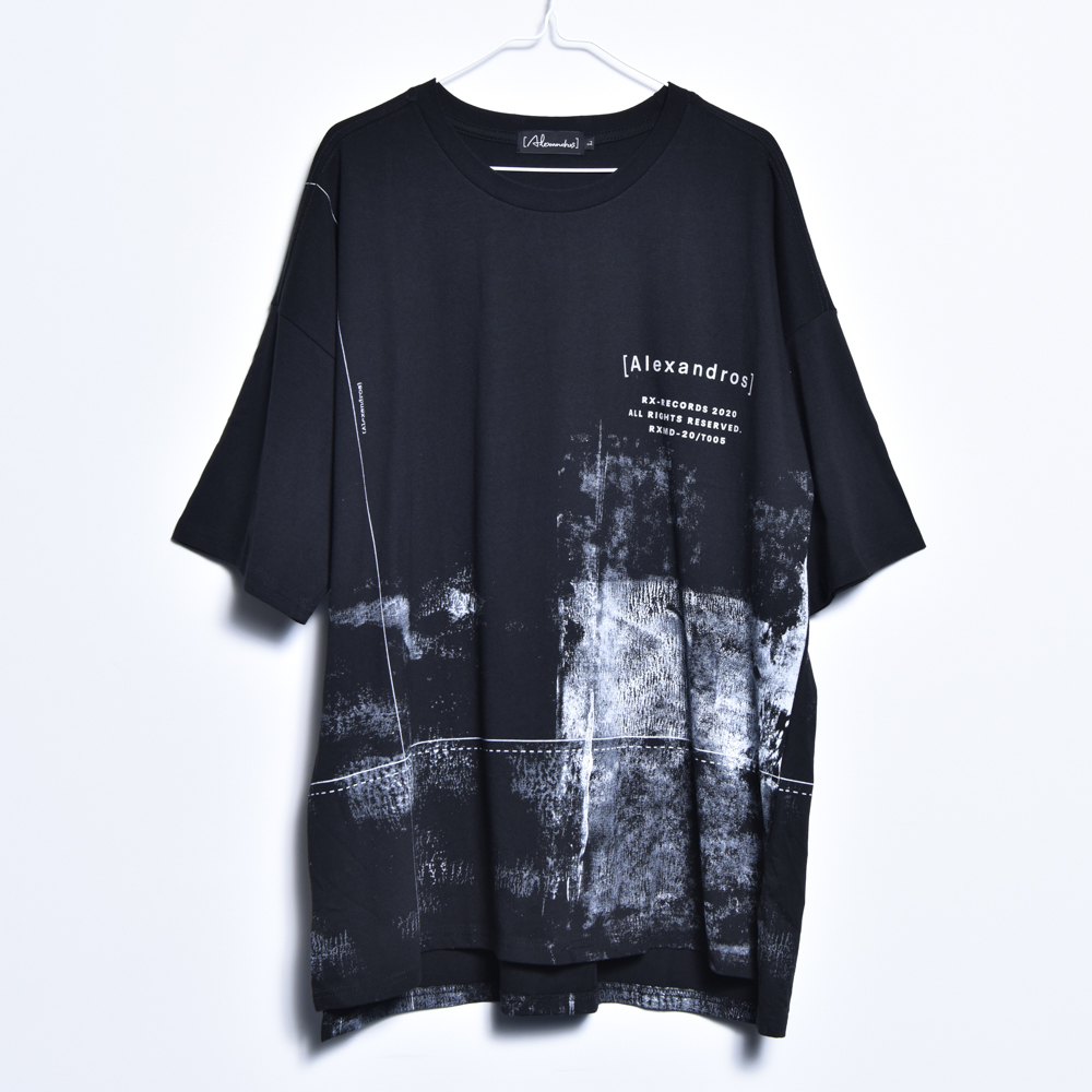 【NEW】NOISE BIG TEE(BLACK)