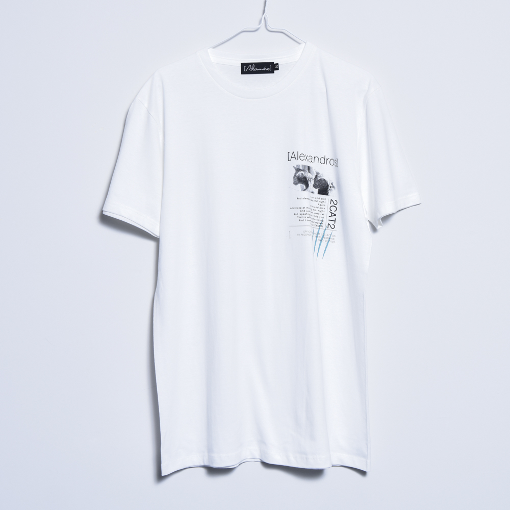 【NEW】2CAT2 TEE(WHITE)