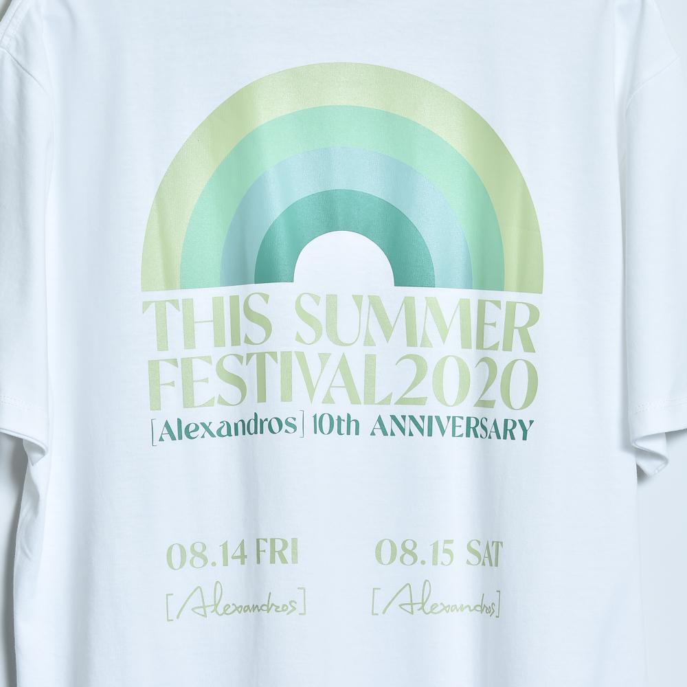 THIS SUMMER FESTIVAL 2020 TEE(WHITE)