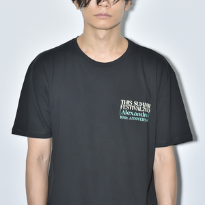 【NEW】THIS SUMMER FESTIVAL 2020 TEE(BLACK)