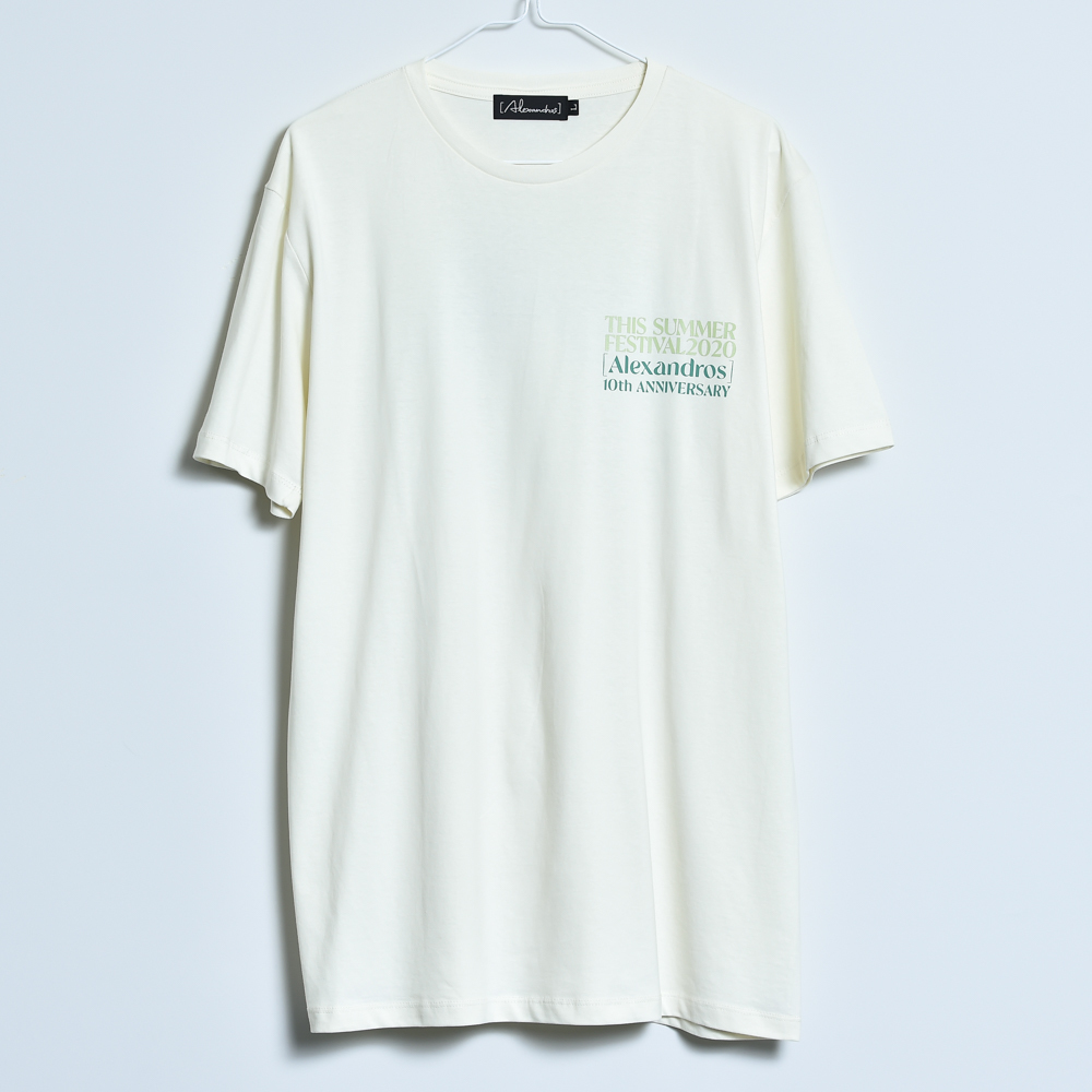 【NEW】THIS SUMMER FESTIVAL 2020 TEE(NATURAL)