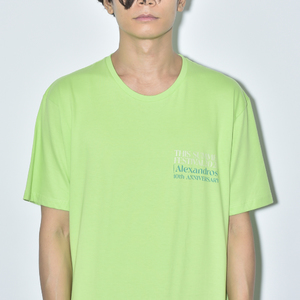 【NEW】THIS SUMMER FESTIVAL 2020 TEE(LIME)