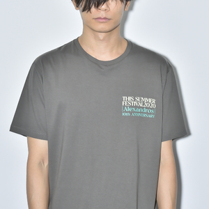 【NEW】THIS SUMMER FESTIVAL 2020 TEE(CHARCOAL)