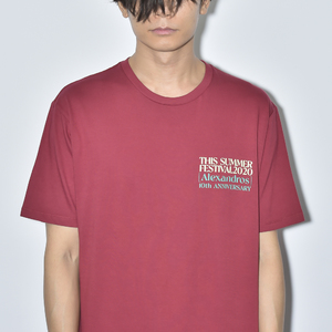 【NEW】THIS SUMMER FESTIVAL 2020 TEE(BURGUNDY)