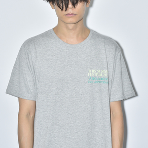 【NEW】THIS SUMMER FESTIVAL 2020 TEE(GREY)