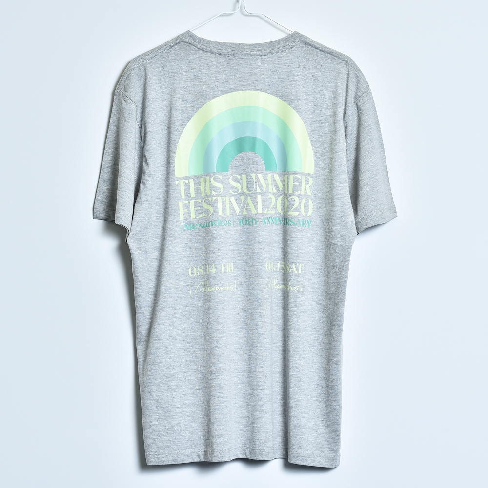 THIS SUMMER FESTIVAL 2020 TEE(GREY)