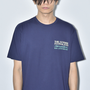 【NEW】THIS SUMMER FESTIVAL 2020 TEE(NAVY)