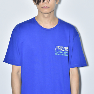 【NEW】THIS SUMMER FESTIVAL 2020 TEE(ROYAL BLUE)
