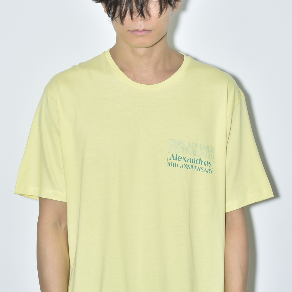 THIS SUMMER FESTIVAL 2020 TEE(LIGHT YELLOW)