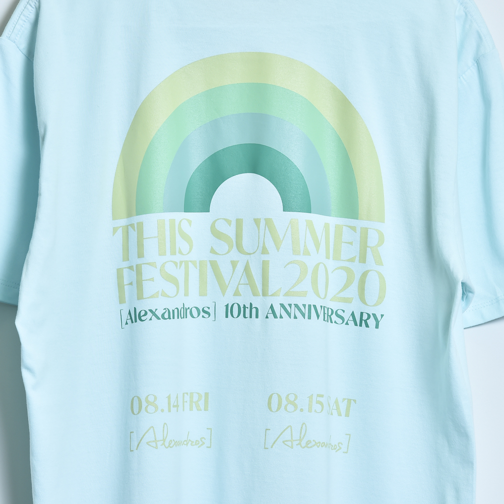 【NEW】THIS SUMMER FESTIVAL 2020 TEE(LIGHT BLUE)