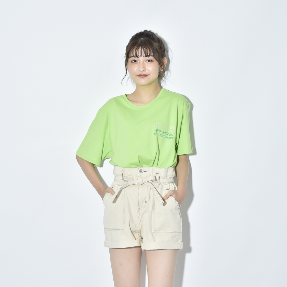 THIS SUMMER FESTIVAL 2020 TEE(LIME)