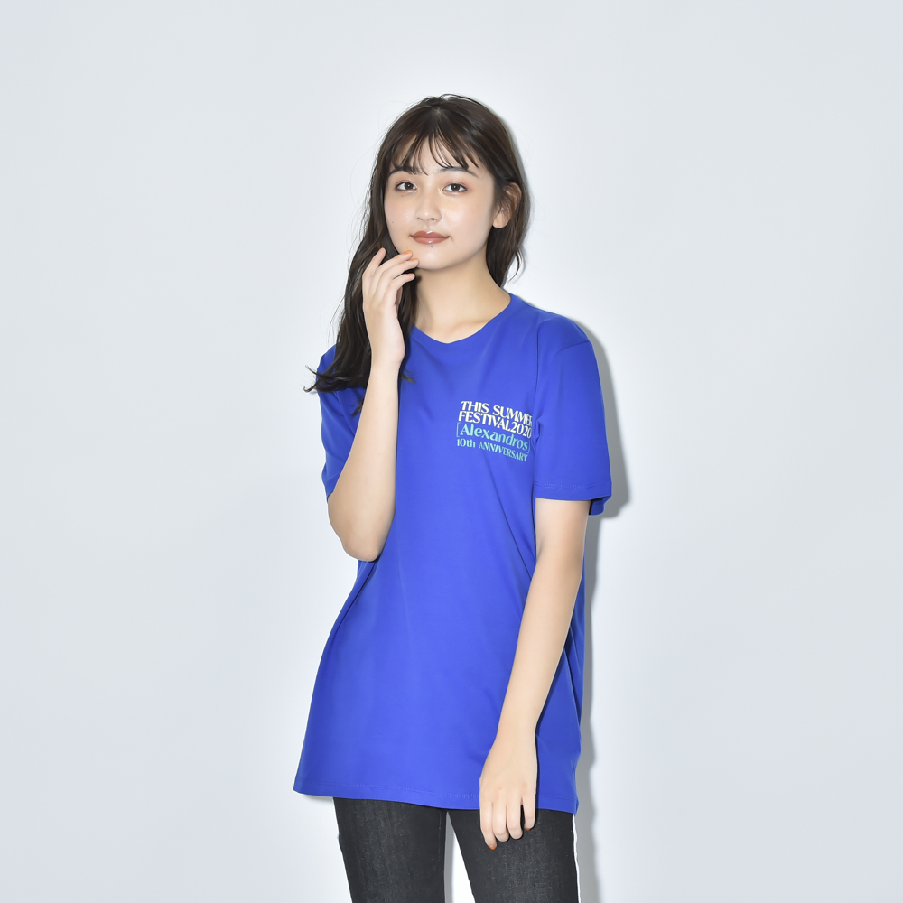 THIS SUMMER FESTIVAL 2020 TEE(ROYAL BLUE)