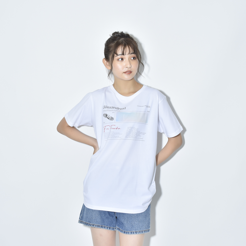 FOR FREEDOM TEE(WHITE)