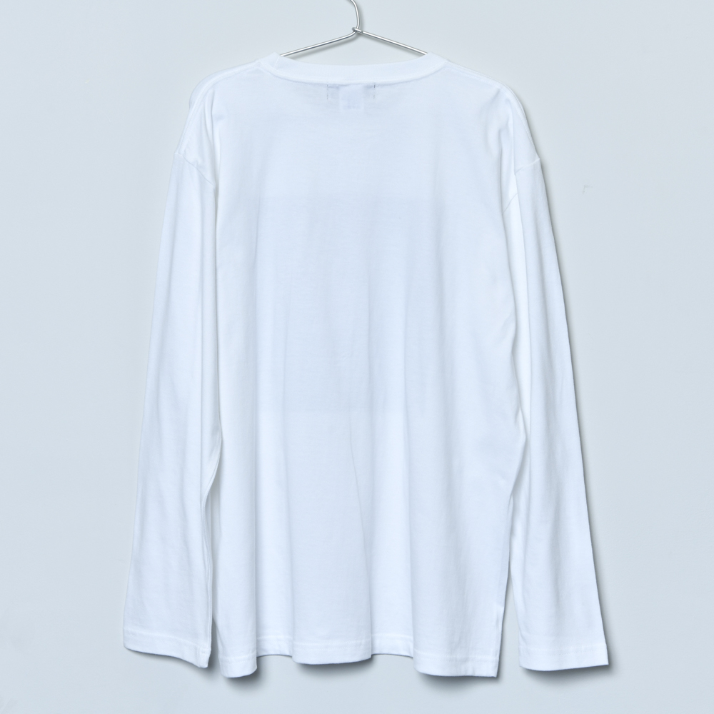 BEAST Jacket Long Sleeve Tee (White)
