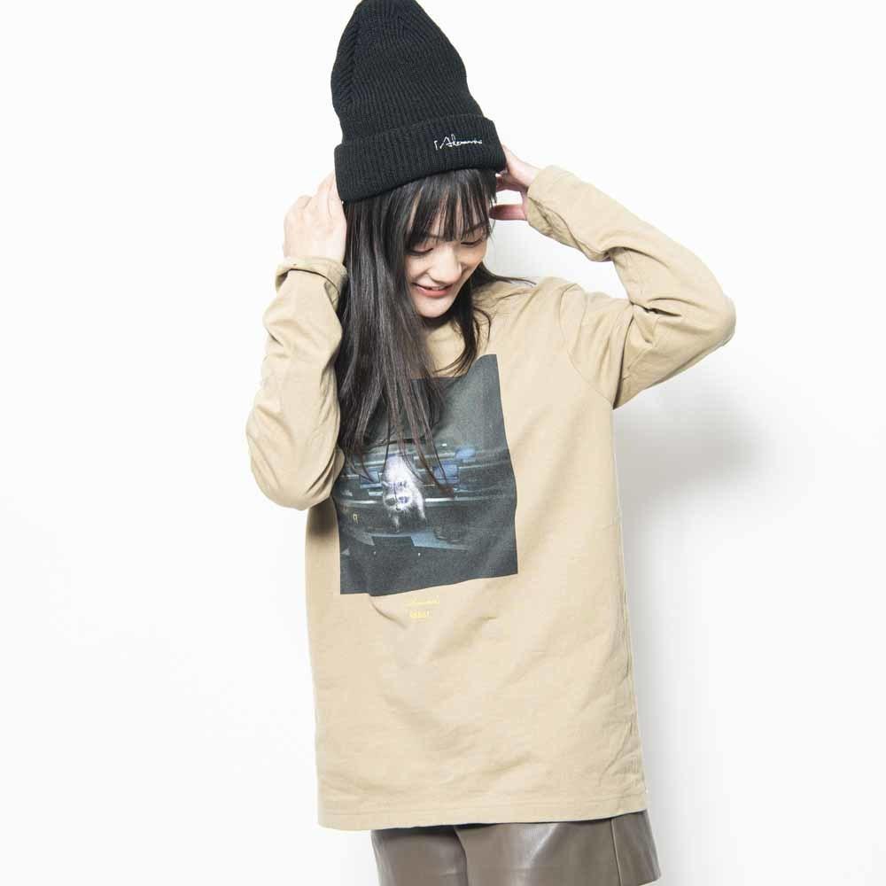 BEAST Jacket Long Sleeve Tee (Sand Khaki)