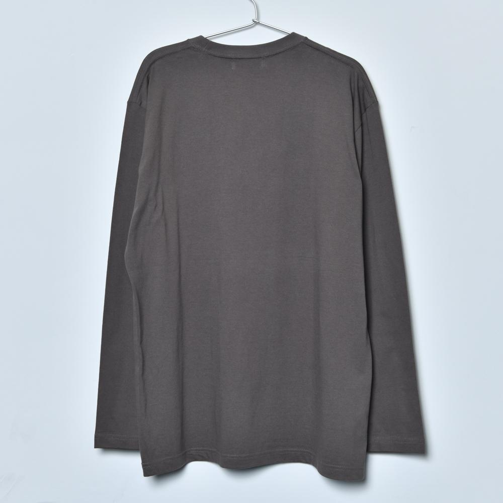 BEAST Jacket Long Sleeve Tee (Charcoal)