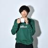 Patch Sweat Shirt (Ivy Green)