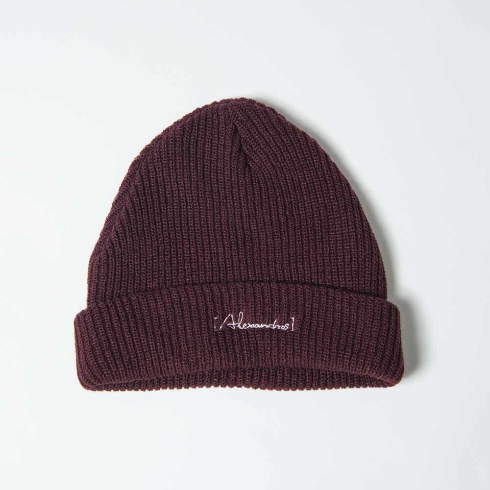 Knit Cap(Burgundy)