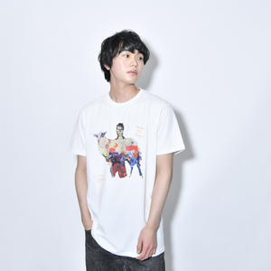 Where's My Yoyogi? TEE (油絵・白)