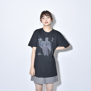 Where's My Yoyogi? TEE (スケルトン・黒)