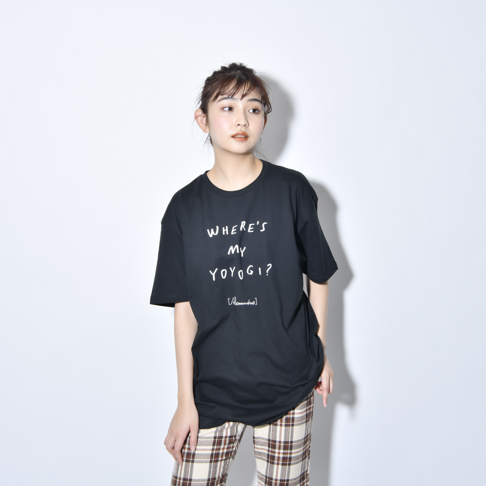 【NEW】Where's My Yoyogi? LOGO TEE (Black)