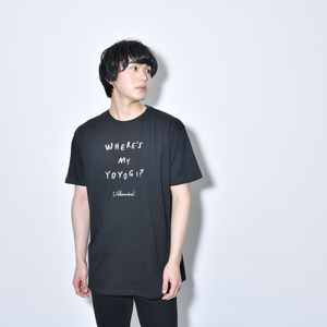 Where's My Yoyogi? LOGO TEE (Black)