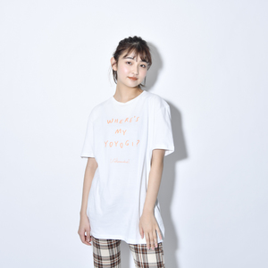 Where's My Yoyogi? LOGO TEE (White)