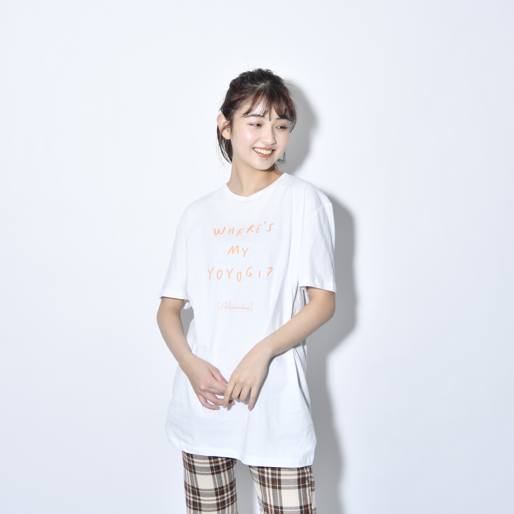 【NEW】Where's My Yoyogi? LOGO TEE (White)