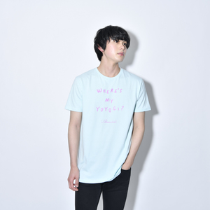 Where's My Yoyogi? LOGO TEE (Light Blue)