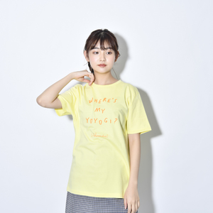 Where's My Yoyogi? LOGO TEE (Light Yellow)
