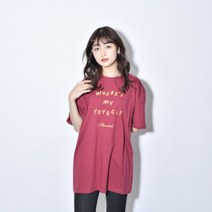 Where's My Yoyogi? LOGO TEE (Burgundy)