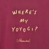 【NEW】Where's My Yoyogi? LOGO TEE (Burgundy)