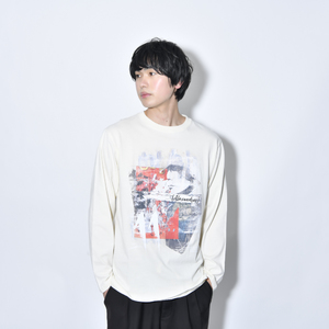 【NEW】Fluid Motion Long Sleeve Tee (Natural)