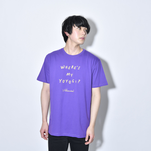 Where's My Yoyogi? LOGO TEE (Purple)