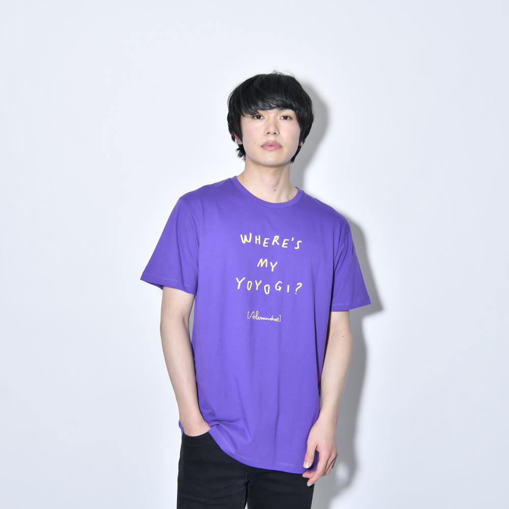 【NEW】Where's My Yoyogi? LOGO TEE (Purple)