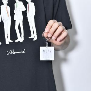 【NEW】illust. Metal Keychain