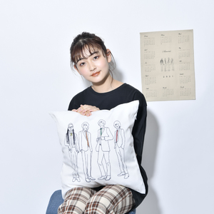 【NEW】illust. Cushion Cover