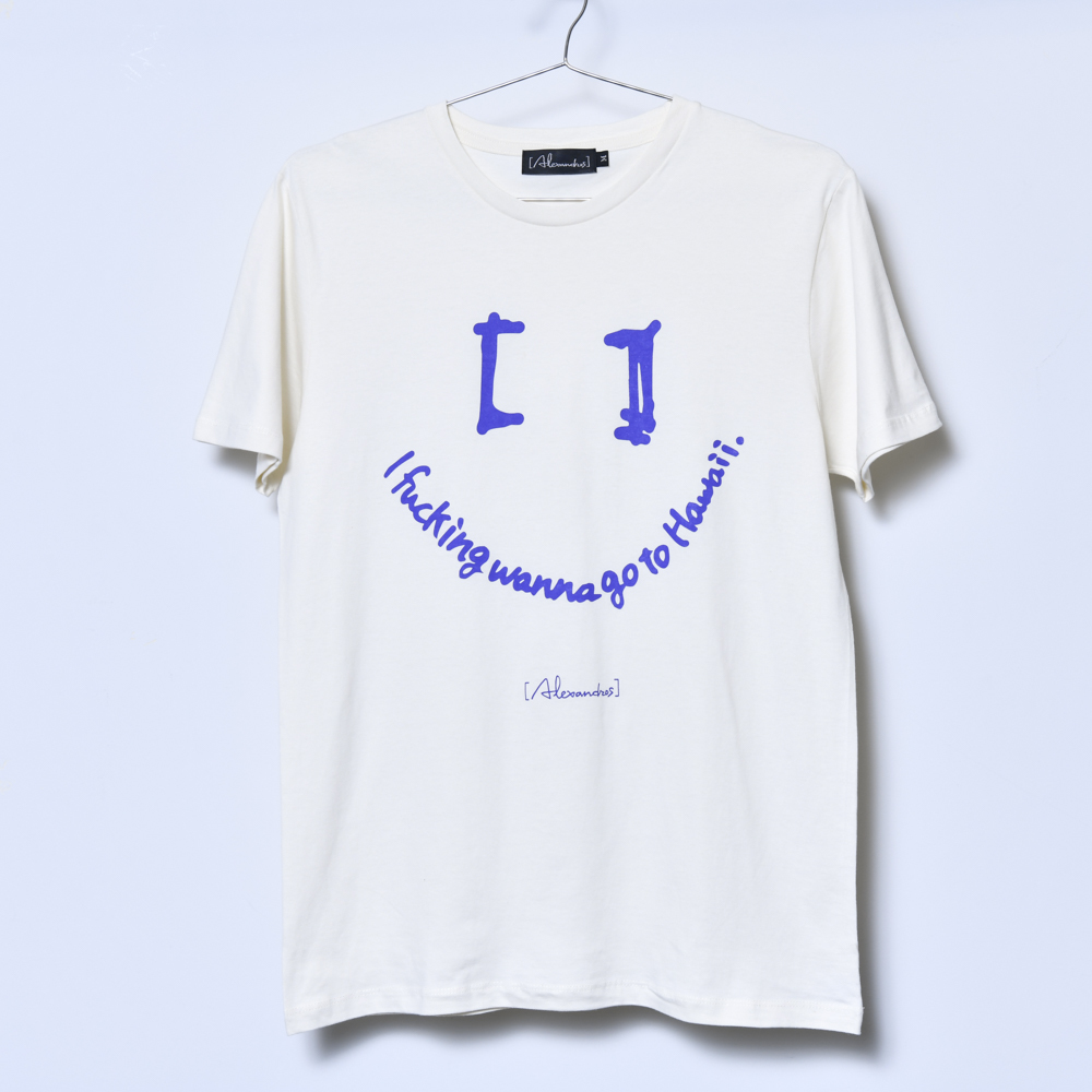【NEW】I fucking wanna go to Hawaii Tee A (Natural)