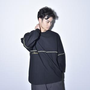 【NEW】Raglansleeve Reverse Long Tee (Black)