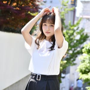 【NEW】SAKURA LOGO Tee(White)