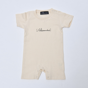 【NEW】Baby Rompers(Natural)