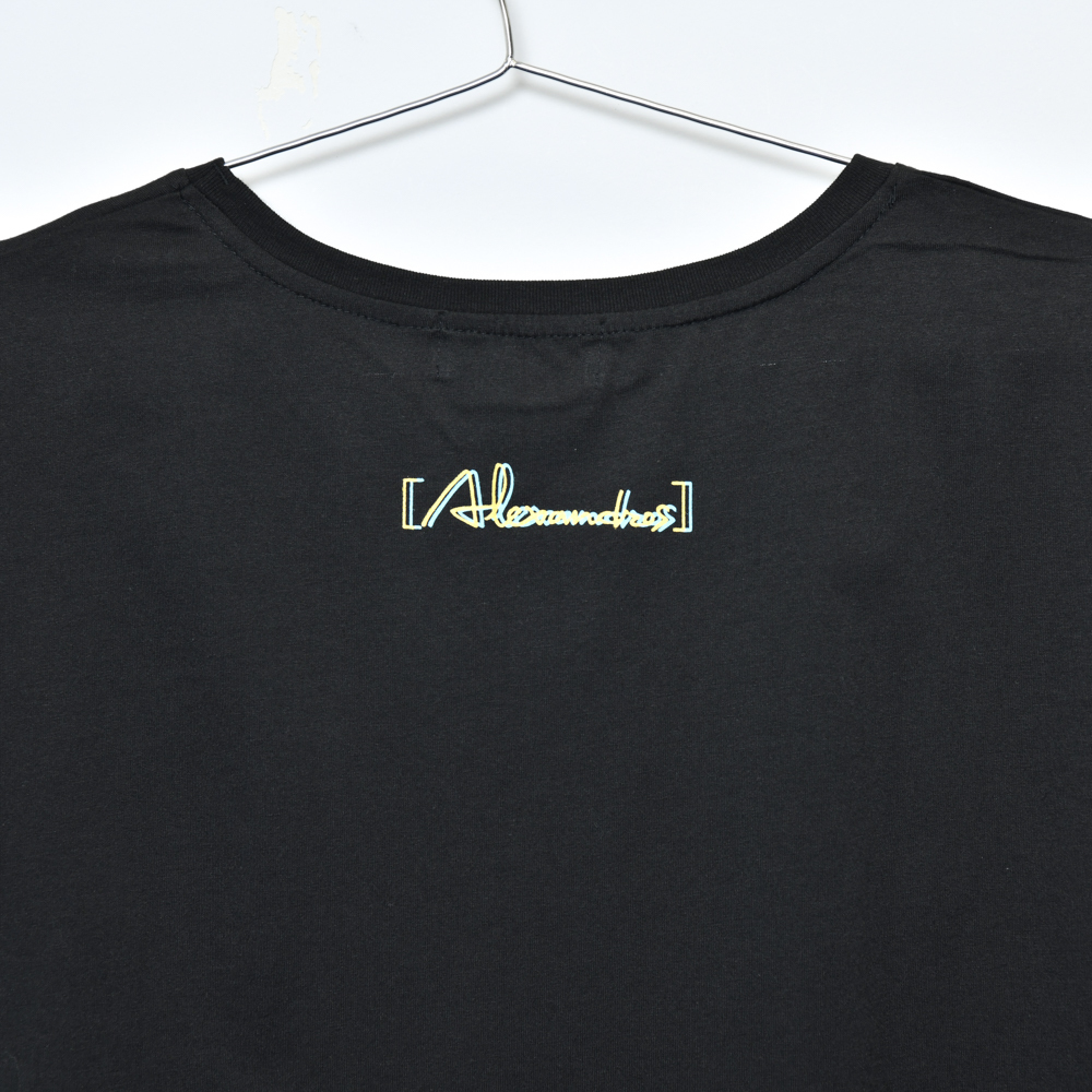 【NEW】Glitch Logo Ladies Tee(Black)