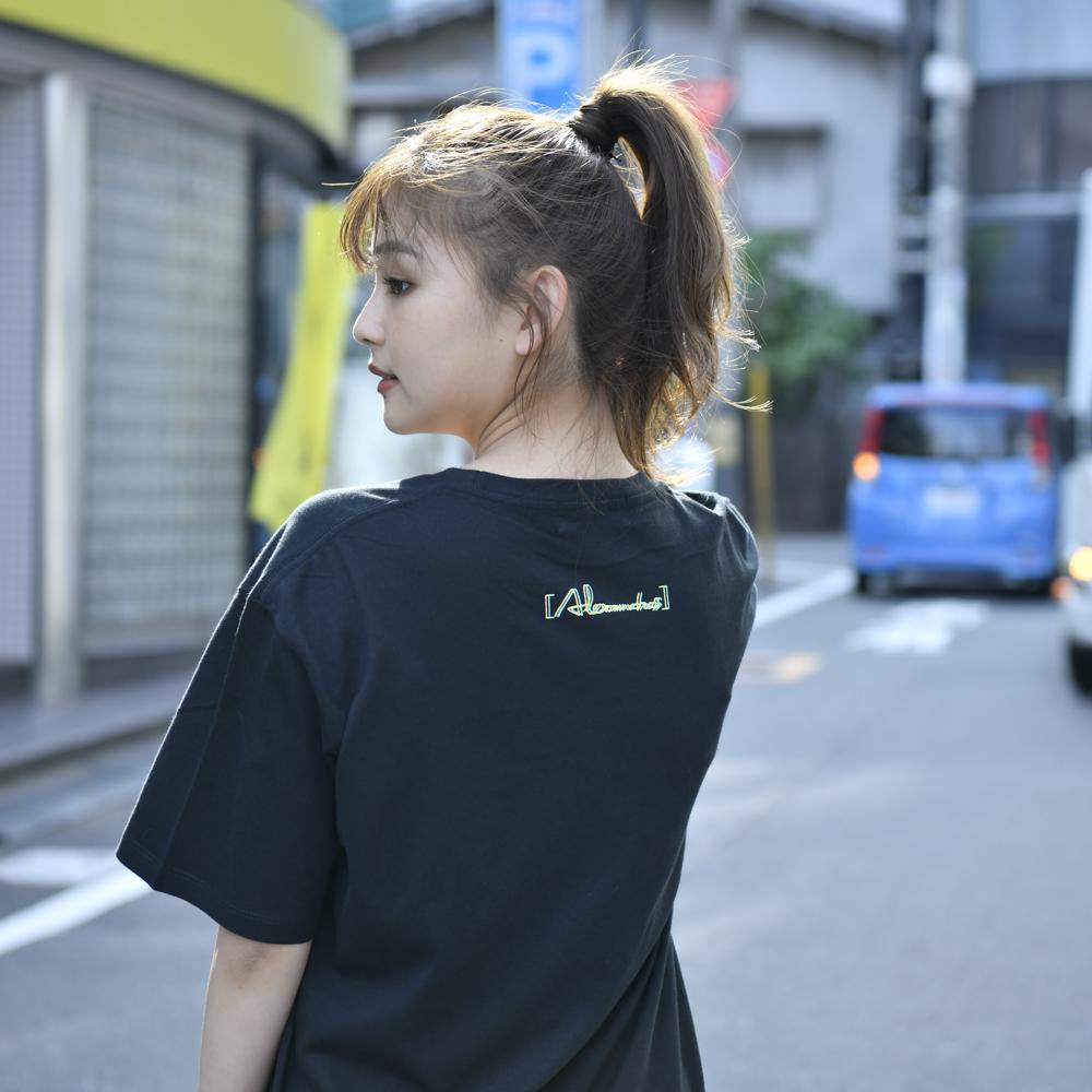 【NEW】Glitch Logo Tee(Black)