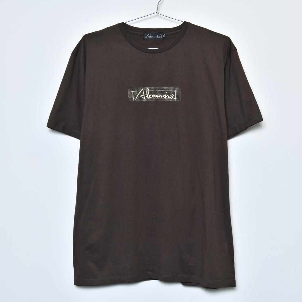 【NEW】Sketch Logo Tee(Brown)