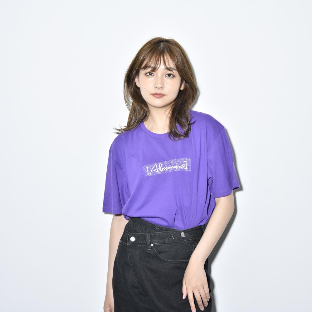 【NEW】Sketch Logo Tee(Purple)