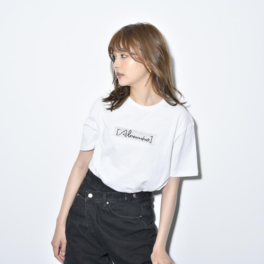 【NEW】Sketch Logo Tee(White)