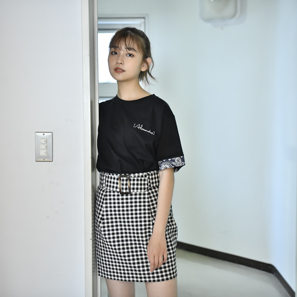 【NEW】Bandana Tee(Black)
