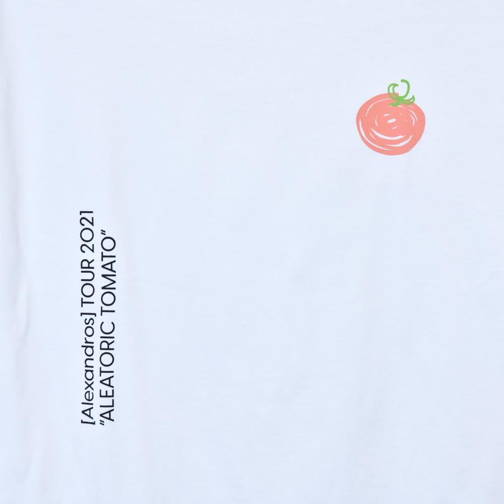 【NEW】 ALEATORIC TOMATO Tee B(White)